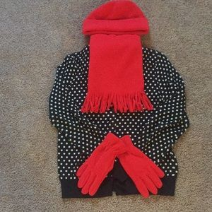 Accessories - 3piece Fleece scarf set